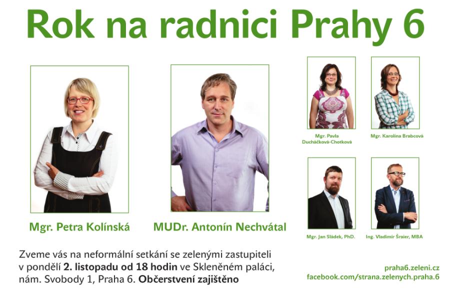Náš komentář k dění na radnici Prahy 6