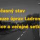 Stanovisko spolků k úpravám areálu Ladronka