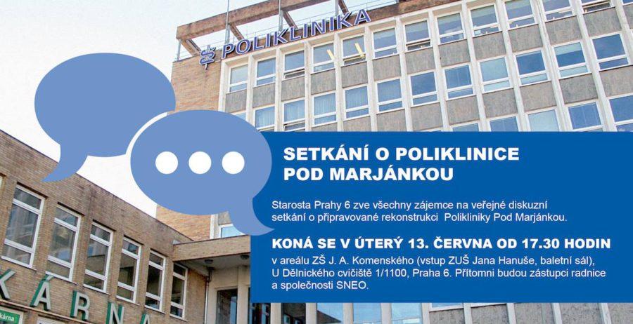 Setkání o Poliklinice Pod Marjánkou 2